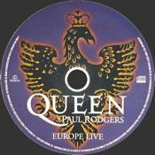 Europe Live Disc