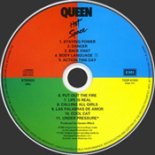 Hot Space 2004 Disc