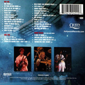 Live At Wembley Stadium CD Back Sleeve