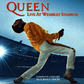 Live At Wembley Stadium Front Sleeve