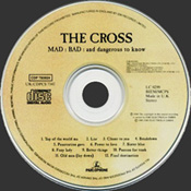 Mad, Bad, And Dangerous To Know CD Disc