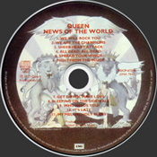 News Of The World 2004 Disc
