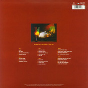 On Fire: Live At The Bowl Vinyl Back Sleeve