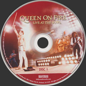 On Fire: Live At The Bowl Disc 1