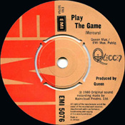 Play The Game label