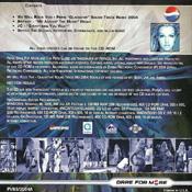 Pepsi Music 2004 Back Sleeve