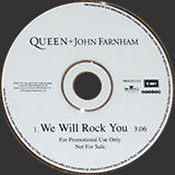 We Will Rock You Disc