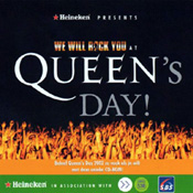 Queen's Day Front Sleeve