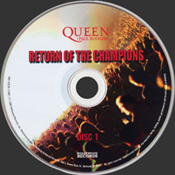 Return Of The Champions Disc 1