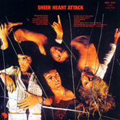 Sheer Heart Attack Vinyl Back Sleeve
