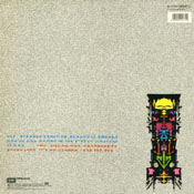 Strange Frontier Back Vinyl Sleeve