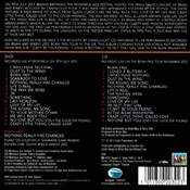 The Candlelight Concerts DVD Back Sleeve