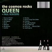 The Cosmos Rocks Back Sleeve