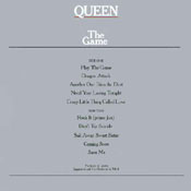 The Game Vinyl Back Sleeve