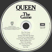 The Game 2004 Disc